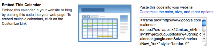 3) Adding a Google Calendar - Making a Weebly Website